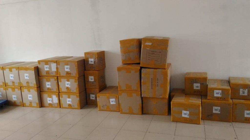 タオバオ⇒米国Amazon 直送 荷物