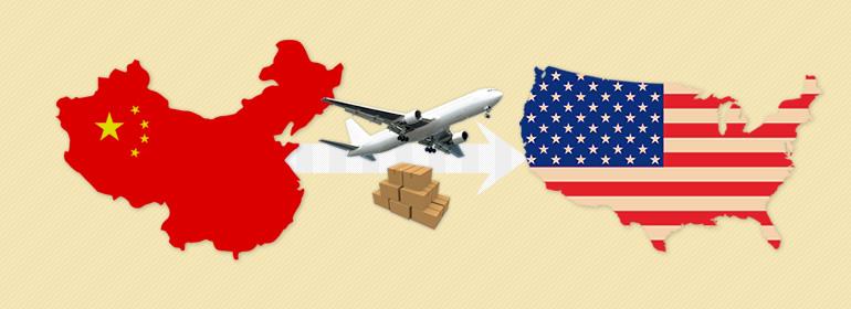 国際配送料(中国からアメリカ)
