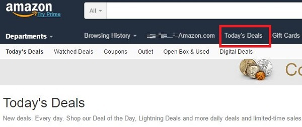 Lightning deal